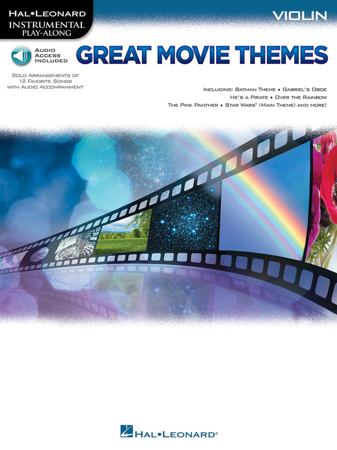 View larger image of Great Movie Themes - Violin