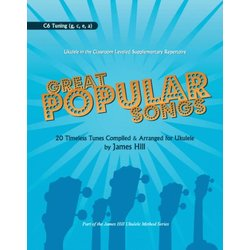 Great Popular Songs - D6 Edition for Ukulele