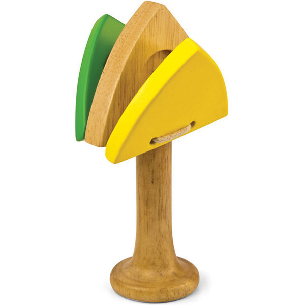 View larger image of Green Tones Triangle Castanet