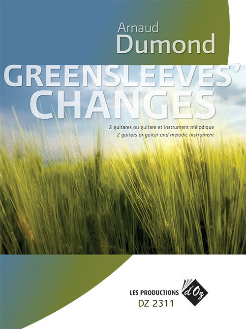 View larger image of Greensleeves Changes (Dumond) - Guitar Duet