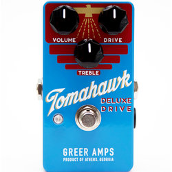 Greer Amplification Tomahawk Deluxe Drive Pedal