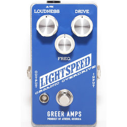 Greer Amps Lightspeed Organic Overdrive Pedal