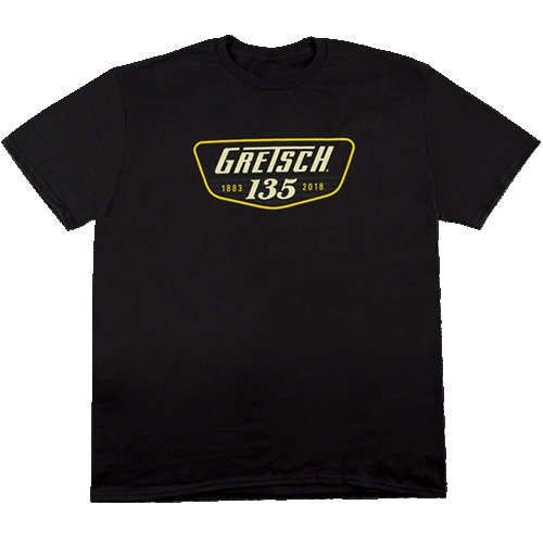 View larger image of Gretsch 135 Anniversary T-Shirt - Black, Small