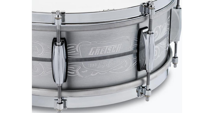 View larger image of Gretsch 135th Anniversary Commemorative Snare Drum