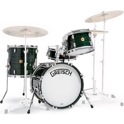 Gretsch 135th Anniversary Limited Edition 4-Piece Shell Pack - 18/14SD/14FT/12, Dark Emerald