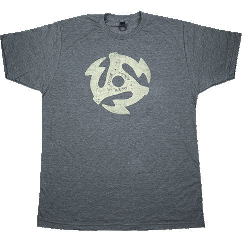 View larger image of Gretsch 45RPM T-Shirt - Heathered Charcoal, Medium