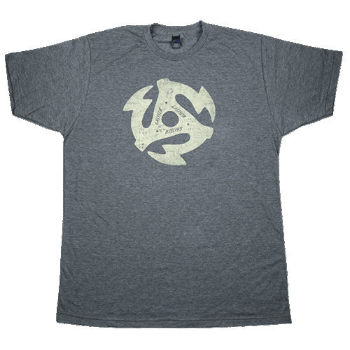 View larger image of Gretsch 45RPM T-Shirt - Heathered Charcoal, XXL