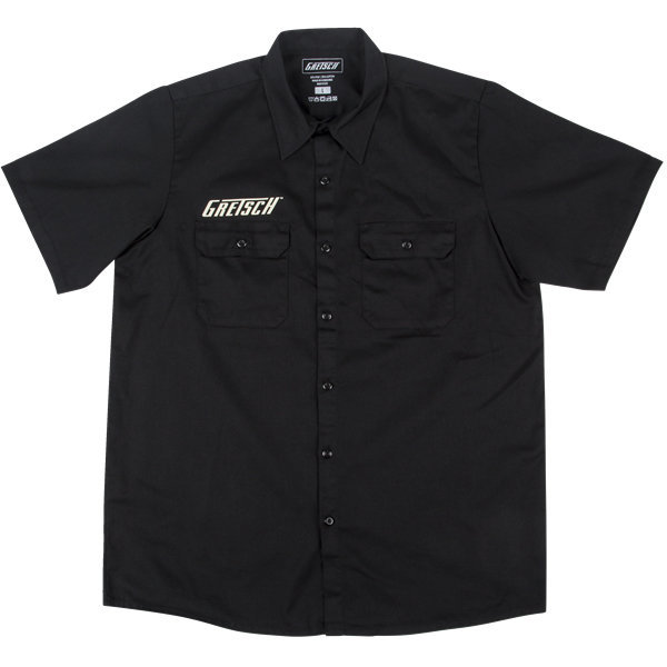 View larger image of Gretsch Electromatic Workshirt - Black, Small
