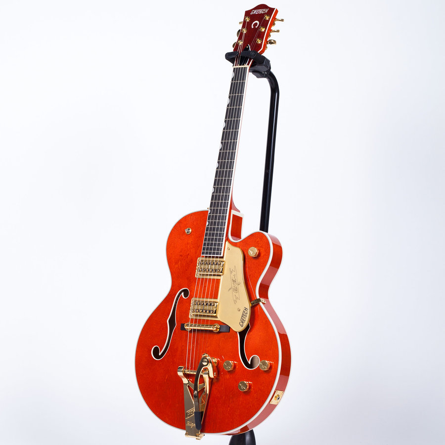View larger image of Gretsch G6120T Players Edition Nashville Hollow Body Guitar - Orange Stain