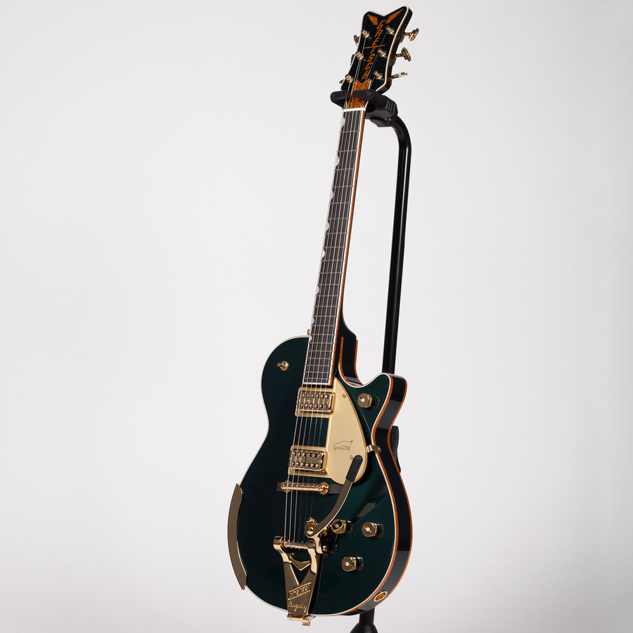 View larger image of Gretsch G6134T-CDG Limited Edition Penguin Electric Guitar - Cadillac Green Metallic