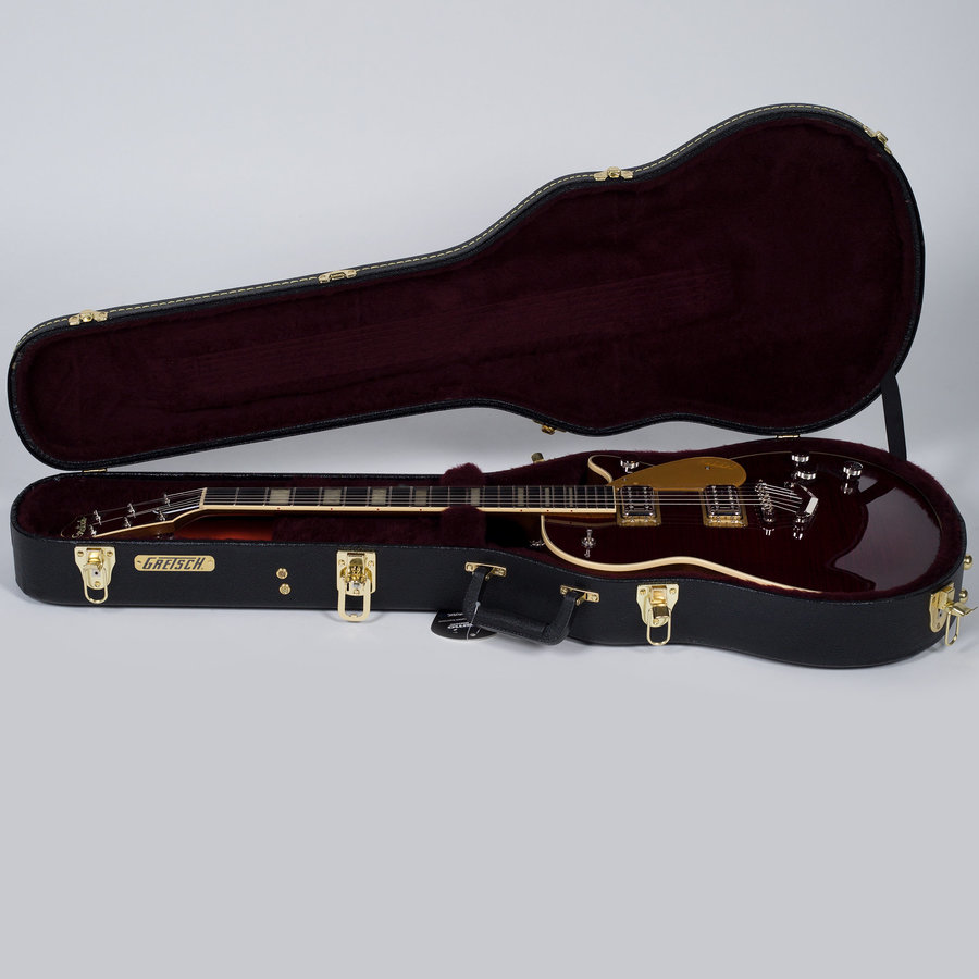 View larger image of Gretsch G6228FM Players Edition Jet BT Electric Guitar - Dark Cherry Stain