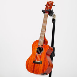 Gretsch G9121 Tenor Acoustic-Cutaway-Electric Ukulele - Ovangkol, Honey Mahogany Stain