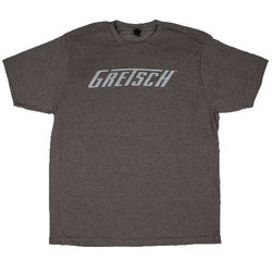 Gretsch Logo T-Shirt - Heather Gray, Large