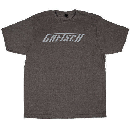 View larger image of Gretsch Logo T-Shirt - Heather Gray, Small