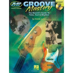 Groove Mastery for Bass w/CD