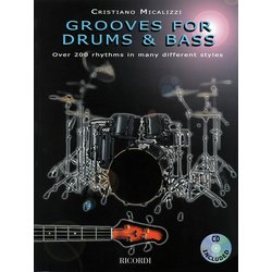 Grooves for Drums & Bass w/CD