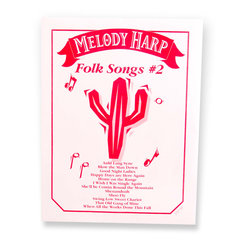 Grover Melody Harp Songcards - Folk Songs #2