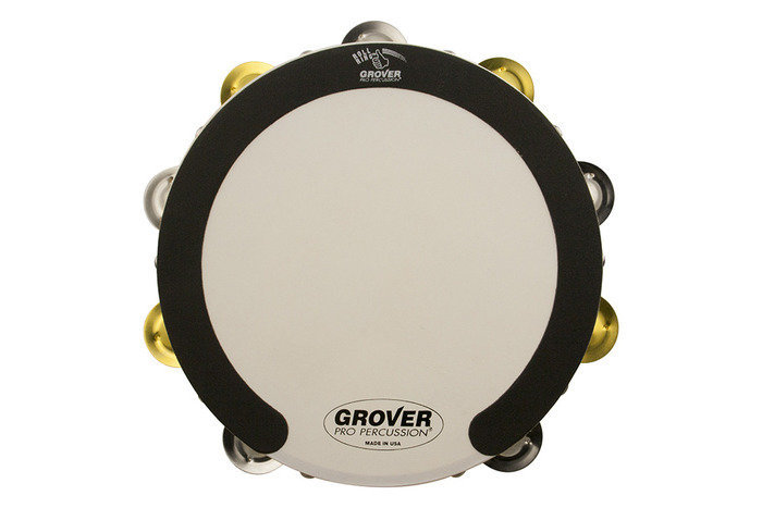 View larger image of Grover Pro SV-TAMB-SB SV Tambourine - Silver/Brass