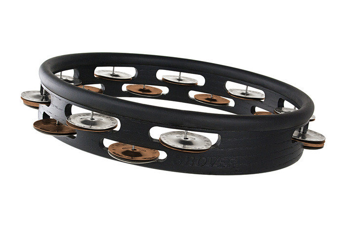 View larger image of Grover Pro T2/GSPH-H Studio Pro Tambourine - Silver/Bronze