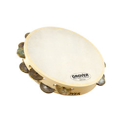 Grover Pro T2/HTC- Bantamweight Heat-Treated Copper Tambourine - 10""