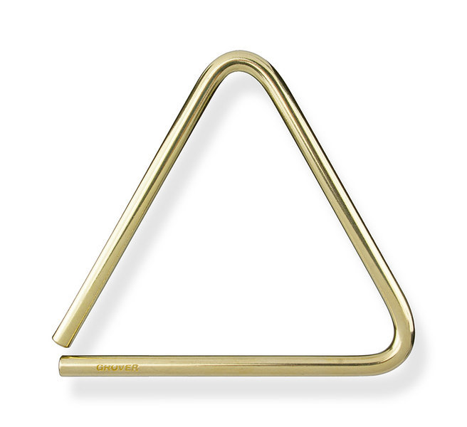 View larger image of Grover Pro TR-B-5 Bronze Series Triangle - 5