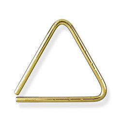 Grover Pro TR-BHL-6 Bronze Hammered Lite Triangle - 6