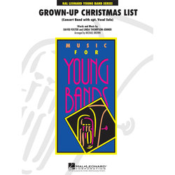 Grown Up Christmas List (with Optional Vocal Solo) - Score & Parts, Grade 3