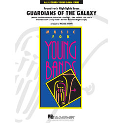 Guardians of The Galaxy Highlights, Score & Parts, Grade 3