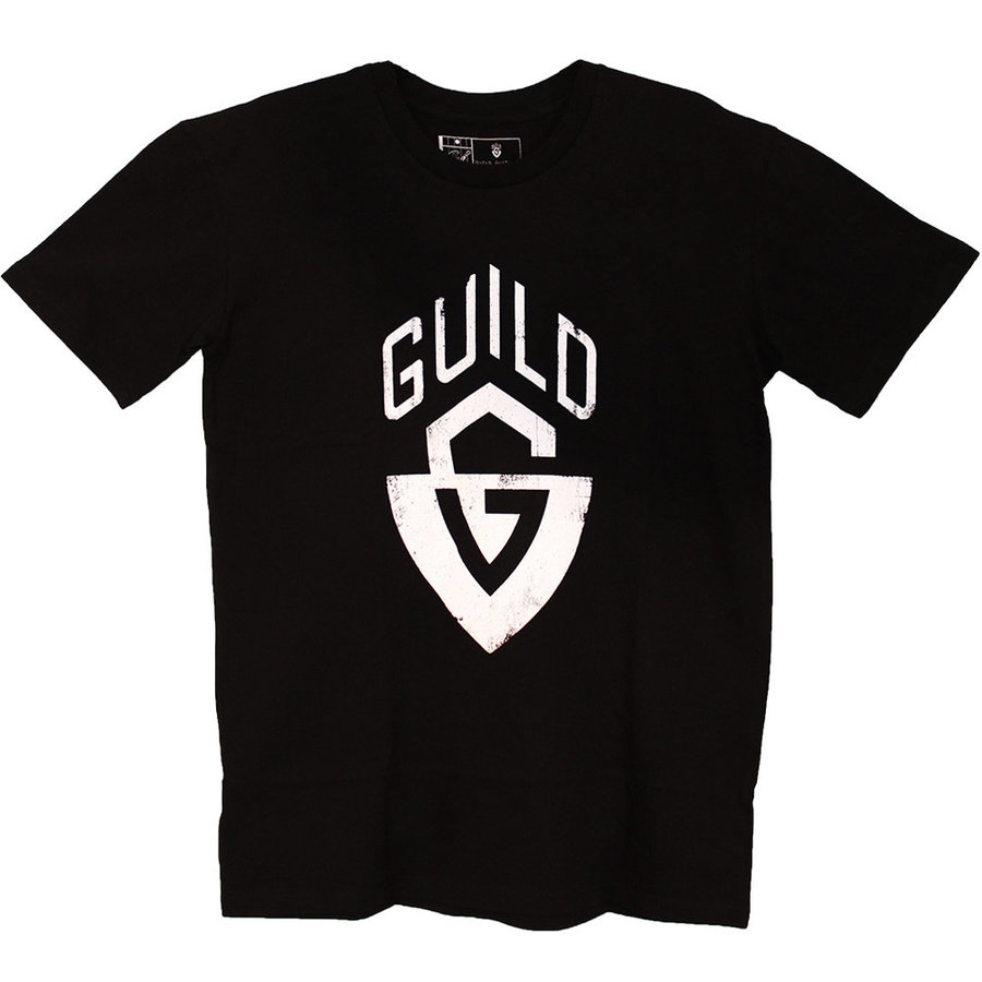 View larger image of Guild G-Shield Logo T-Shirt - Black, Small
