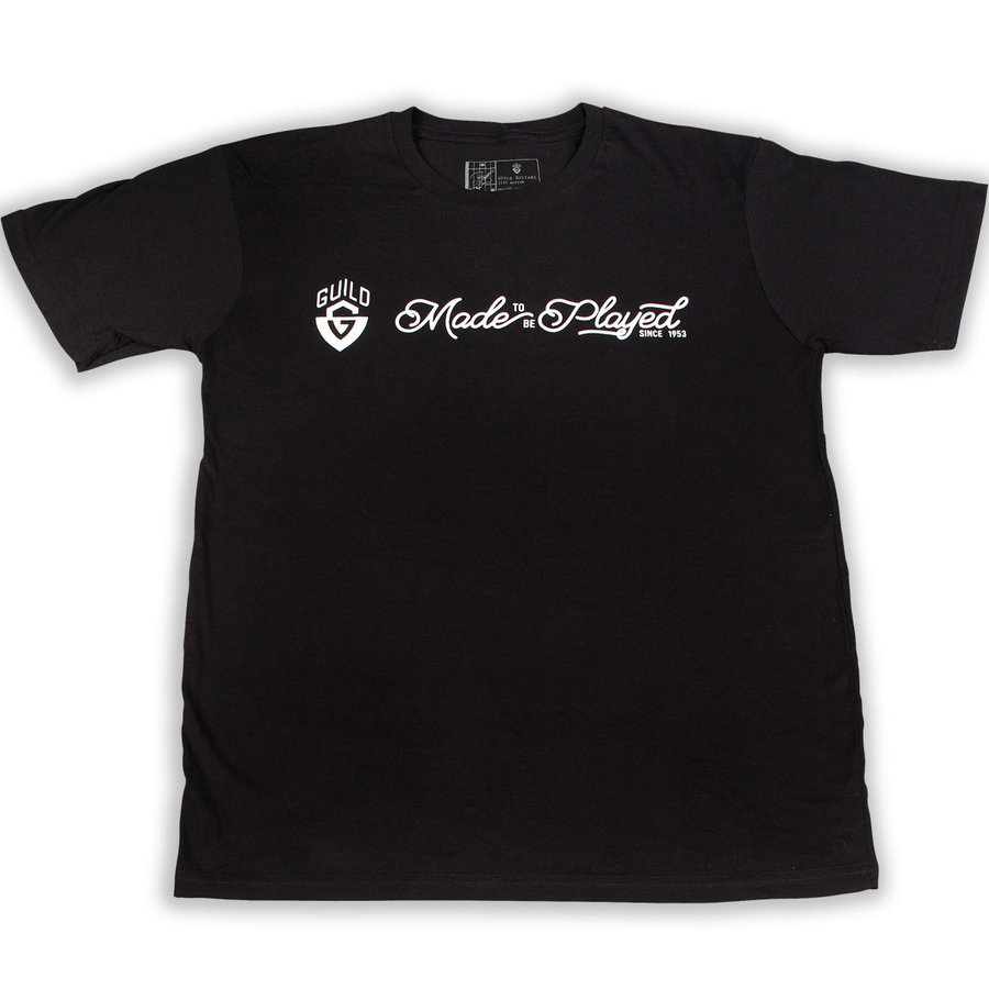 View larger image of Guild Made To Be Played T-Shirt - Black, Medium