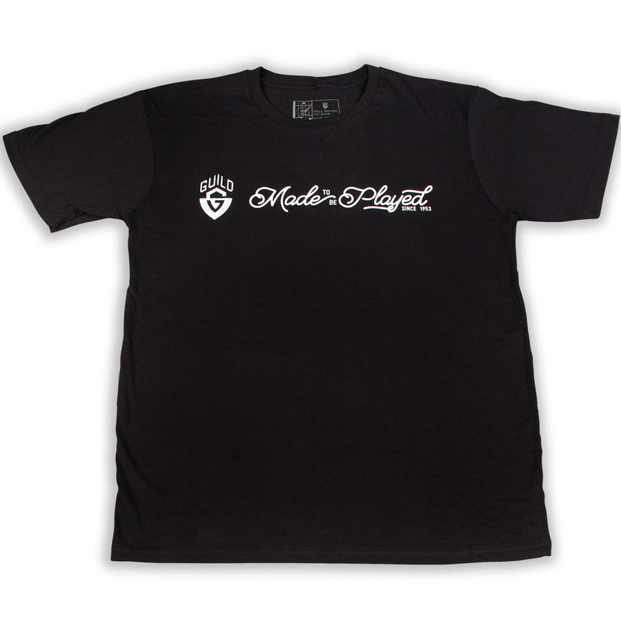 View larger image of Guild Made To Be Played T-Shirt - Black, Small