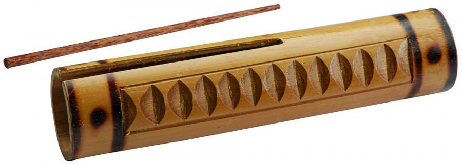 View larger image of Toca Bamboo Guiro with Scraper - Small
