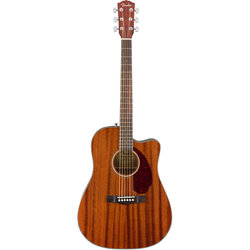 Fender CD-140SCE Dreadnought Acoustic-Electric Guitar - Walnut, All-Mahogany