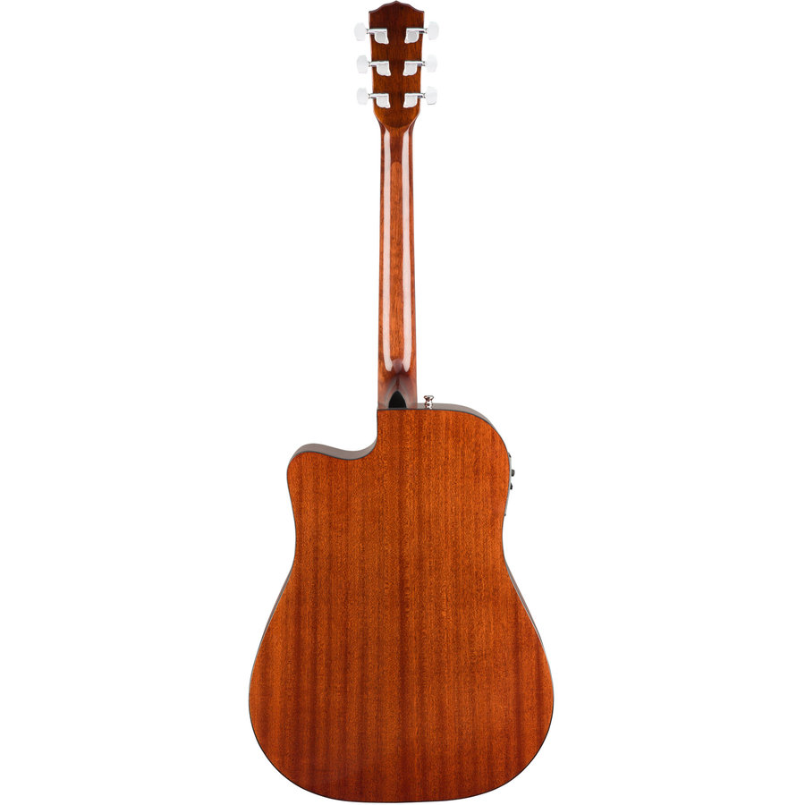 View larger image of Fender CD-140SCE Dreadnought Acoustic-Electric Guitar - Walnut, All-Mahogany