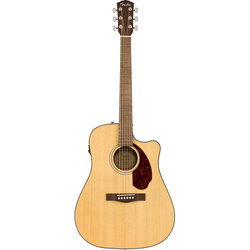 Fender CD-140SCE Dreadnought Acoustic-Electric Guitar - Walnut, Natural