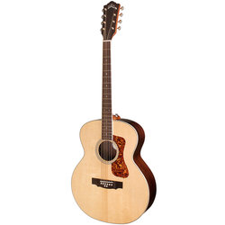 Guild BT-258E Deluxe 8-String Baritone Acoustic-Electric Guitar