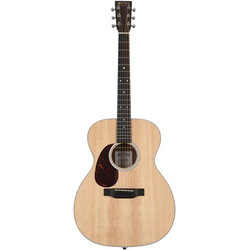Martin 000-13E Acoustic-Electric Guitar - Natural Sitka Spruce, Left
