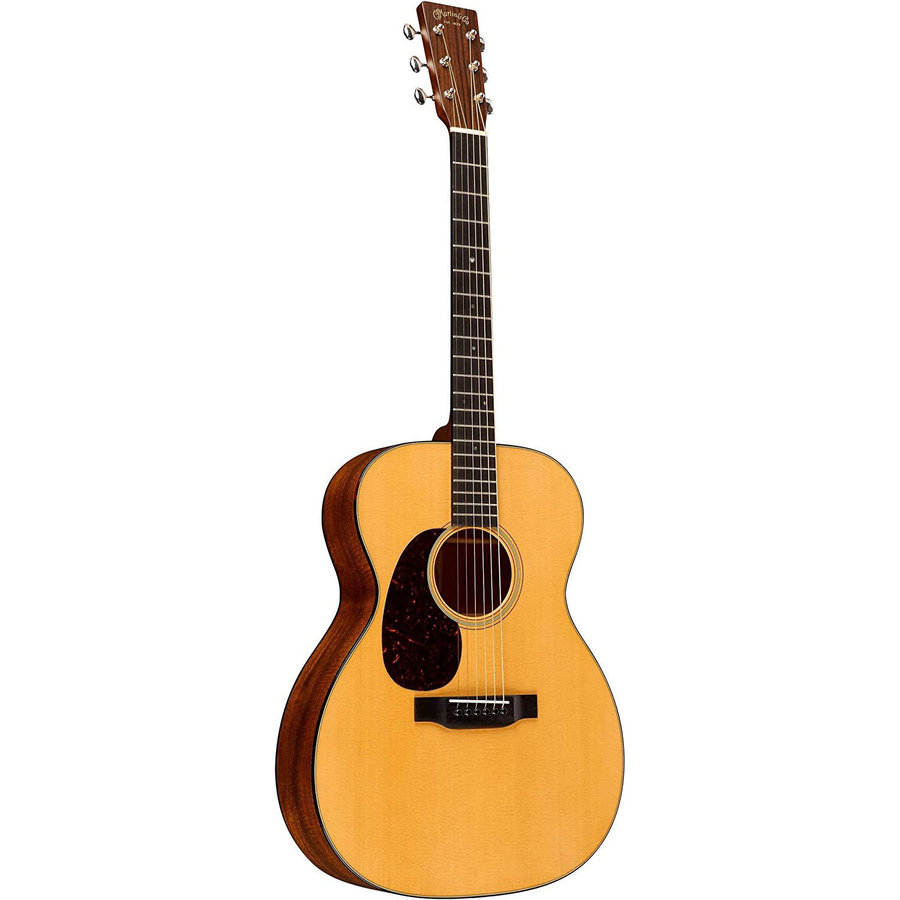 View larger image of Martin 000-18 Acoustic Guitar - Natural Sitka Spruce, Left