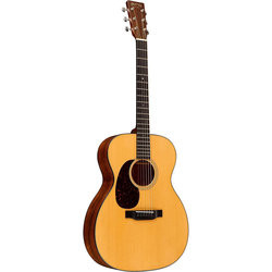 Martin 000-18 Acoustic Guitar - Natural Sitka Spruce, Left