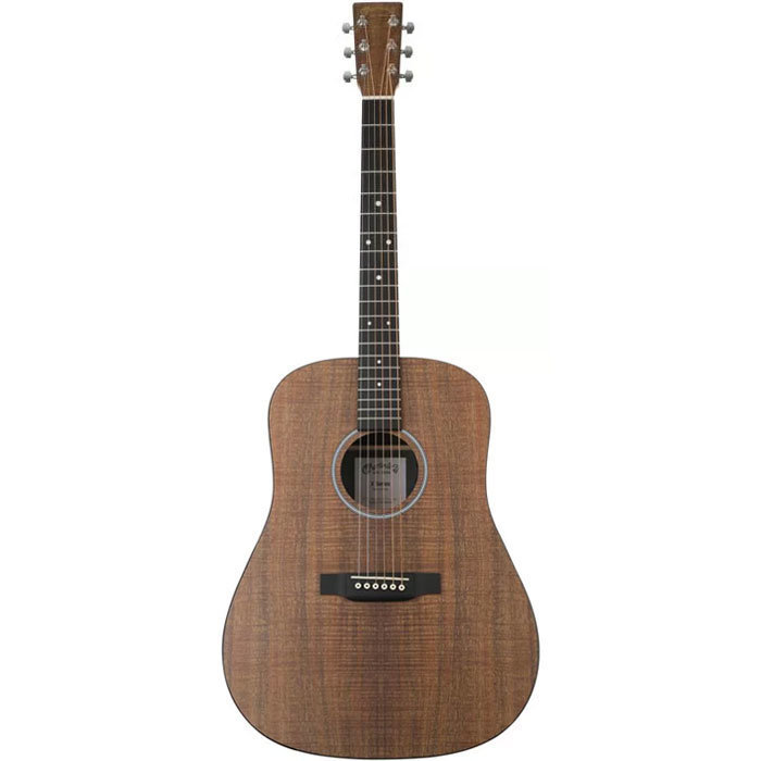 View larger image of Martin D-X1E Koa Acoustic Guitar - Natural Koa, Left