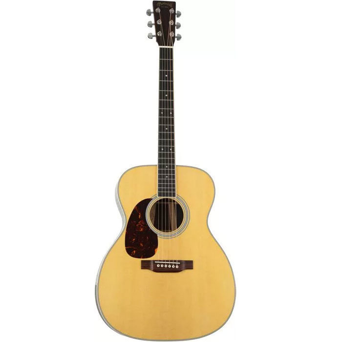 View larger image of Martin M-36 Jumbo Acoustic Guitar - Left