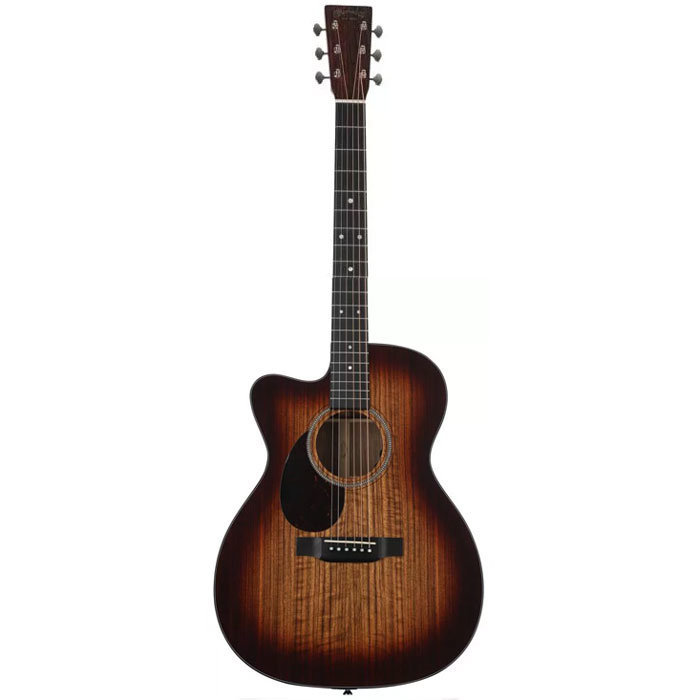 View larger image of Martin OMC-16E Acoustic-Electric Guitar - Mahogany Burst, Left