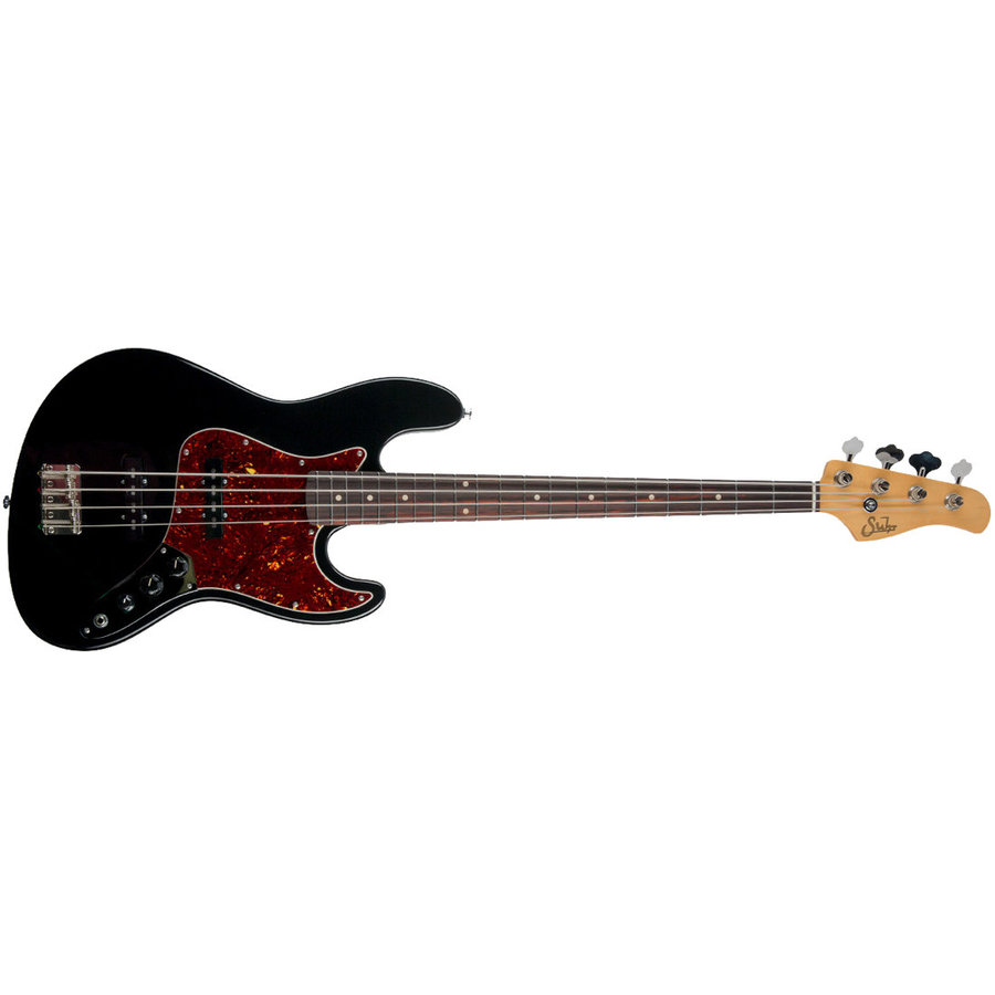 View larger image of Suhr Classic J Bass Guitar - Pro Black