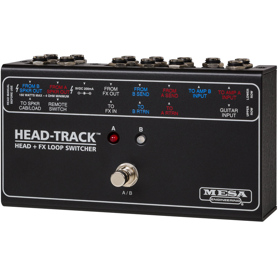 View larger image of MESA/Boogie Head-Track Amp Head/Effects Loop Switcher