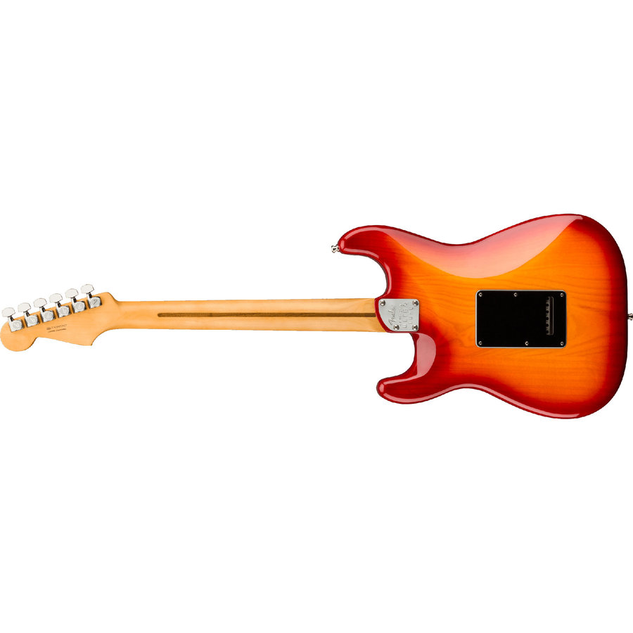 View larger image of Fender Ultra Luxe Stratocaster - Maple, Plasma Red Burst