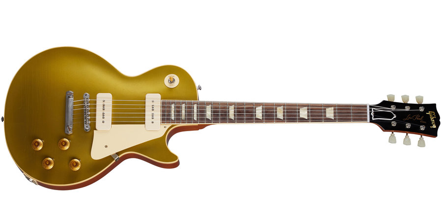 View larger image of Gibson Custom Shop Murphy Lab 1956 Les Paul - Ultra Light Aged Double Gold