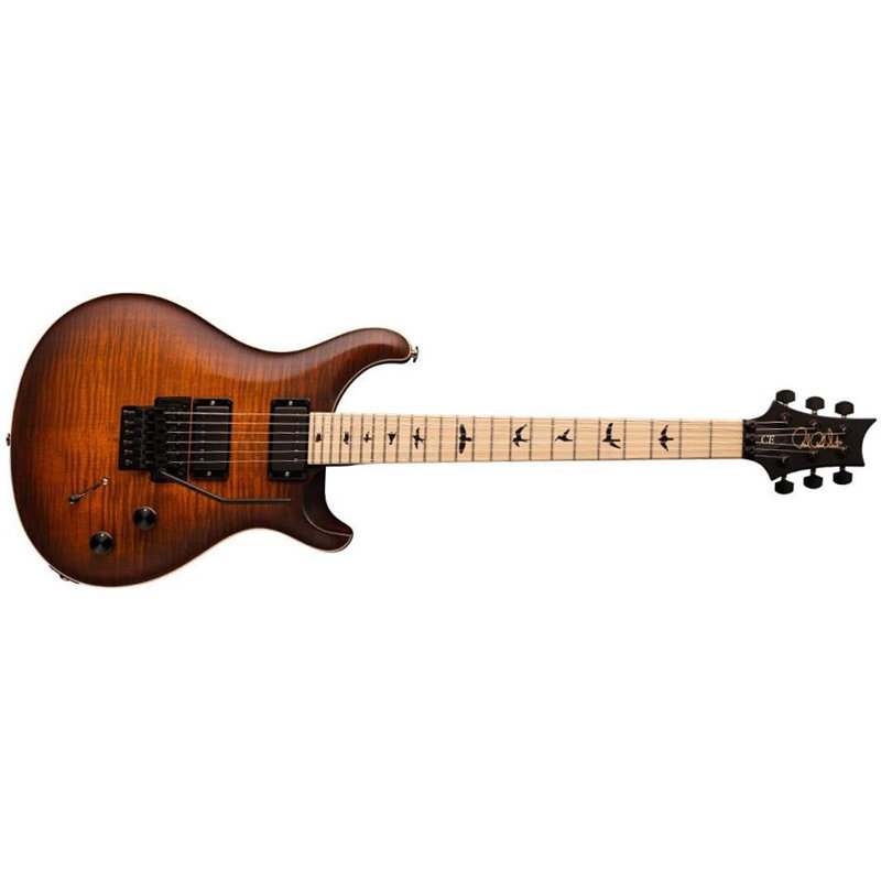 View larger image of PRS Dustie Waring Signature CE 24 Floyd Electric Guitar - Burnt Amber Smokeburst