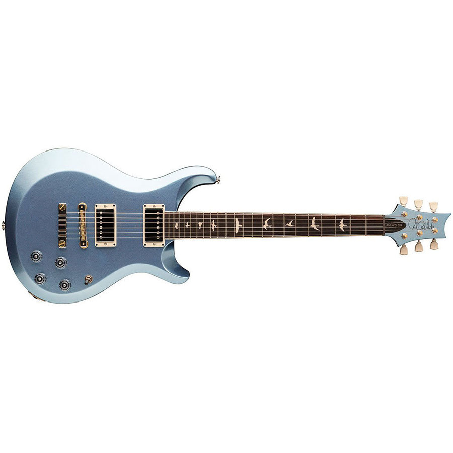 View larger image of PRS S2 McCarty 594 Thinline Electric Guitar - Frost Blue Metallic