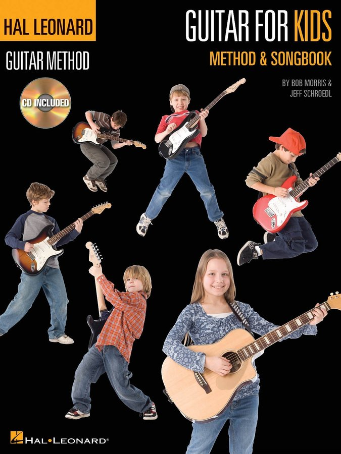 View larger image of Guitar for Kids Method & Songbook (Book & CD)