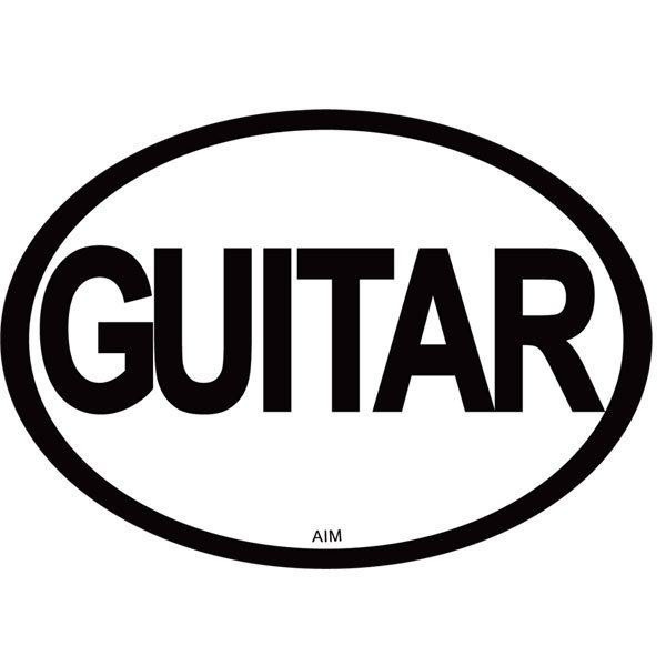 View larger image of Guitar Oval Magnet